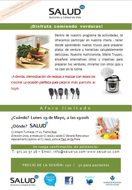 taller nutricionista Mallorca