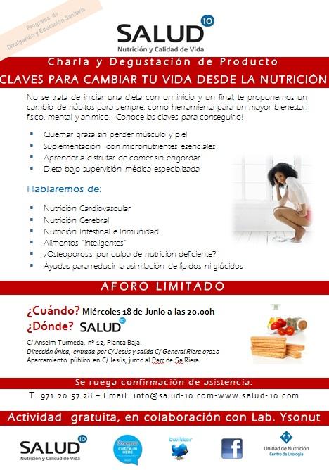 Charla nutrición Mallorca