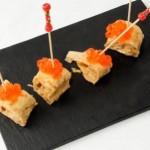 Receta de verano: rollitos de crêpe con salmón y eneldo