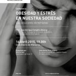 Conferencia: obesidad y estrés en nuestra sociedad. Las soluciones darwinianas