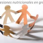 Sesiones nutricionales en grupo