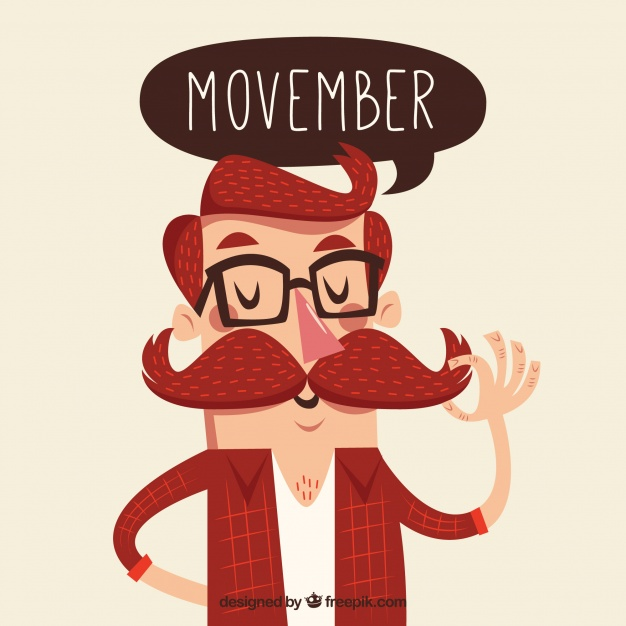 Bigote para Movember