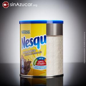 Azúcar en Nesquik
