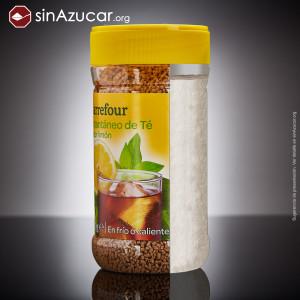 Azúcar en té instantáneo