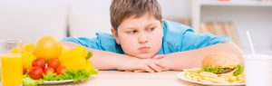 niño con obesidad
